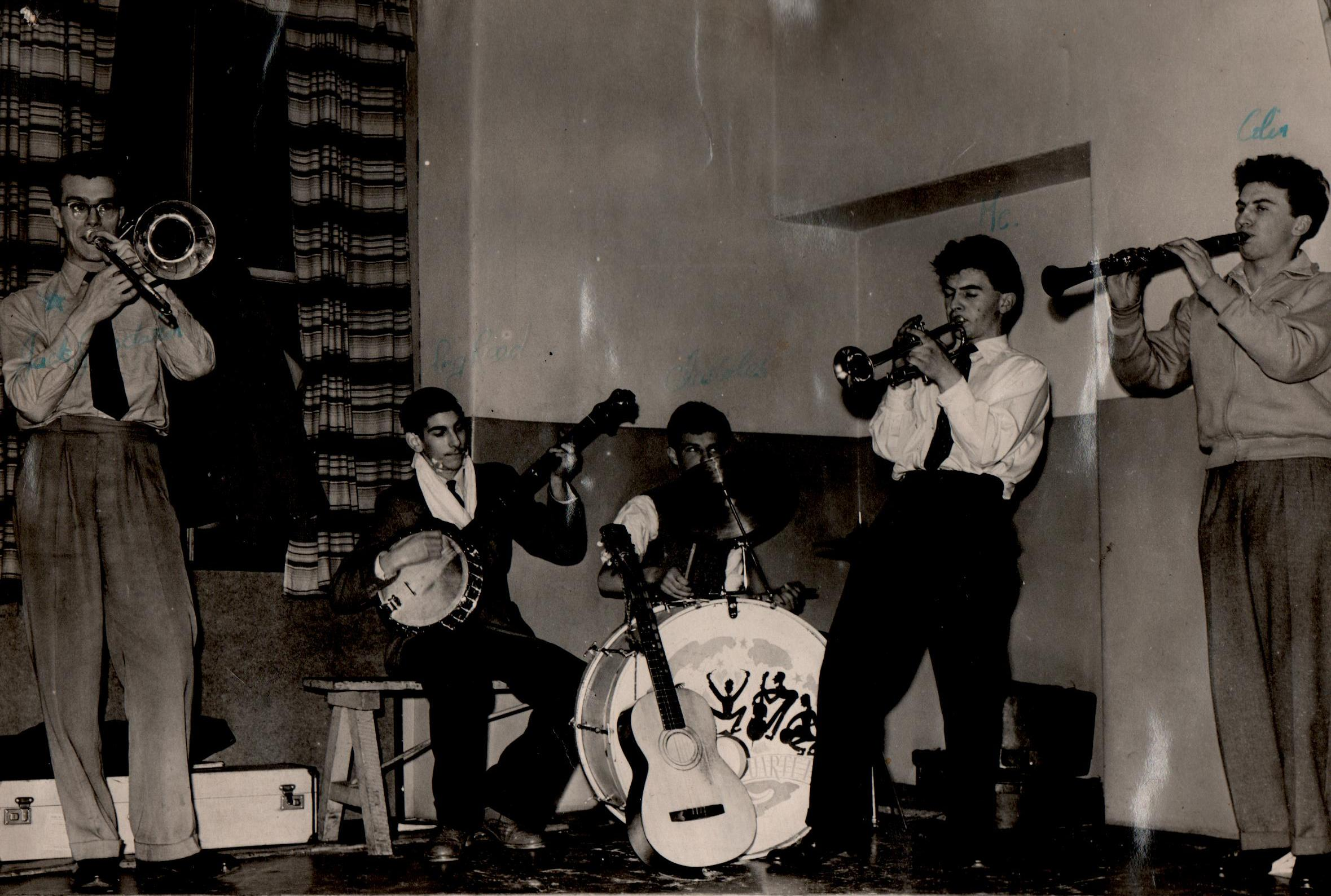 Colin's Band 1955